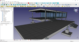 FreeCAD Farnsworth House.png